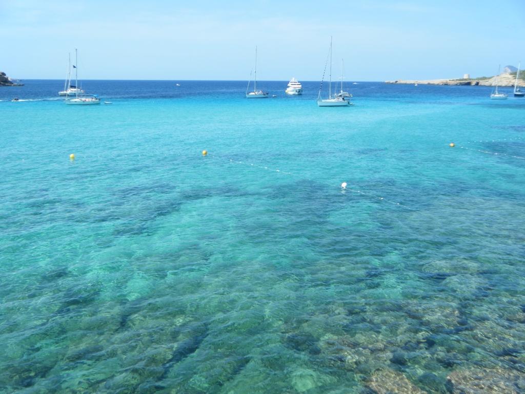 Cala Comte, Bahia de San Antonio, Ibiza, Baleares