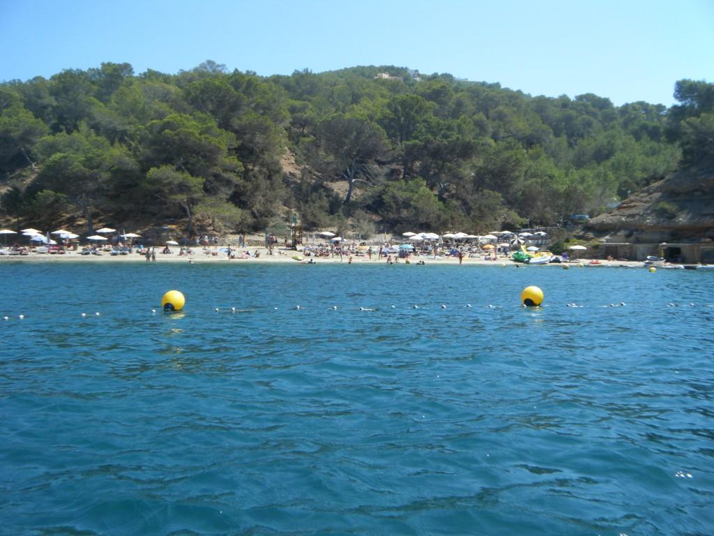 Cala Salada, Bahia de San Antonio, Ibiza, Baleares