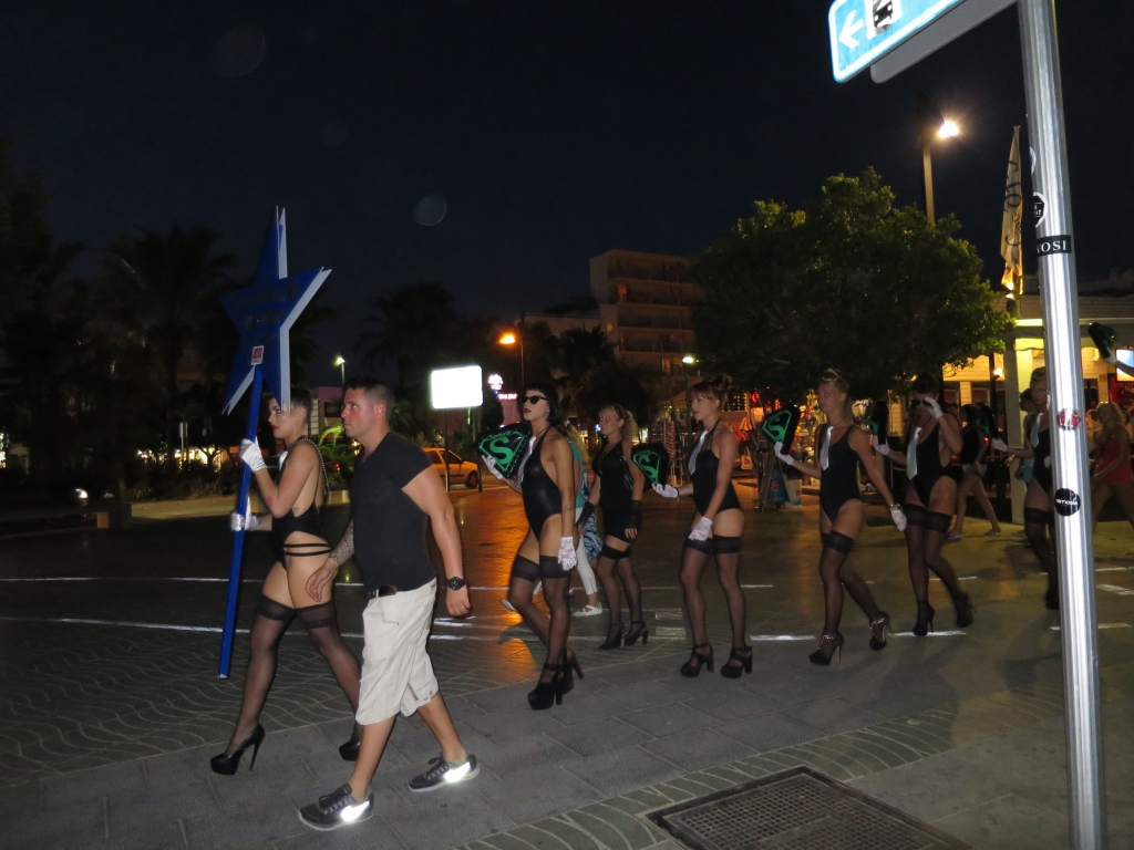 San Antonio noche, Ibiza, Baleares