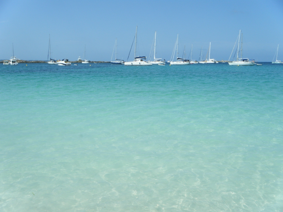 Playa S´Espalmador, Formentera
