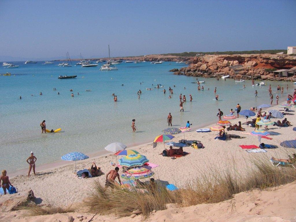 Playa de Cala Saona, Formentera