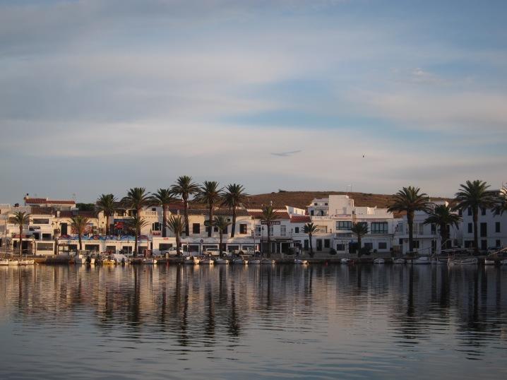 Puerto de Fornells, Menorca. pueblo pequeño de pescadores y conocido por su caldereta de langosta.