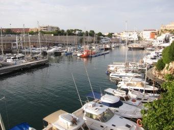 Puerto de Ciutadella, Menorc
