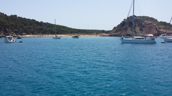 Cala Algaiarens,Menorca Norte de la isla