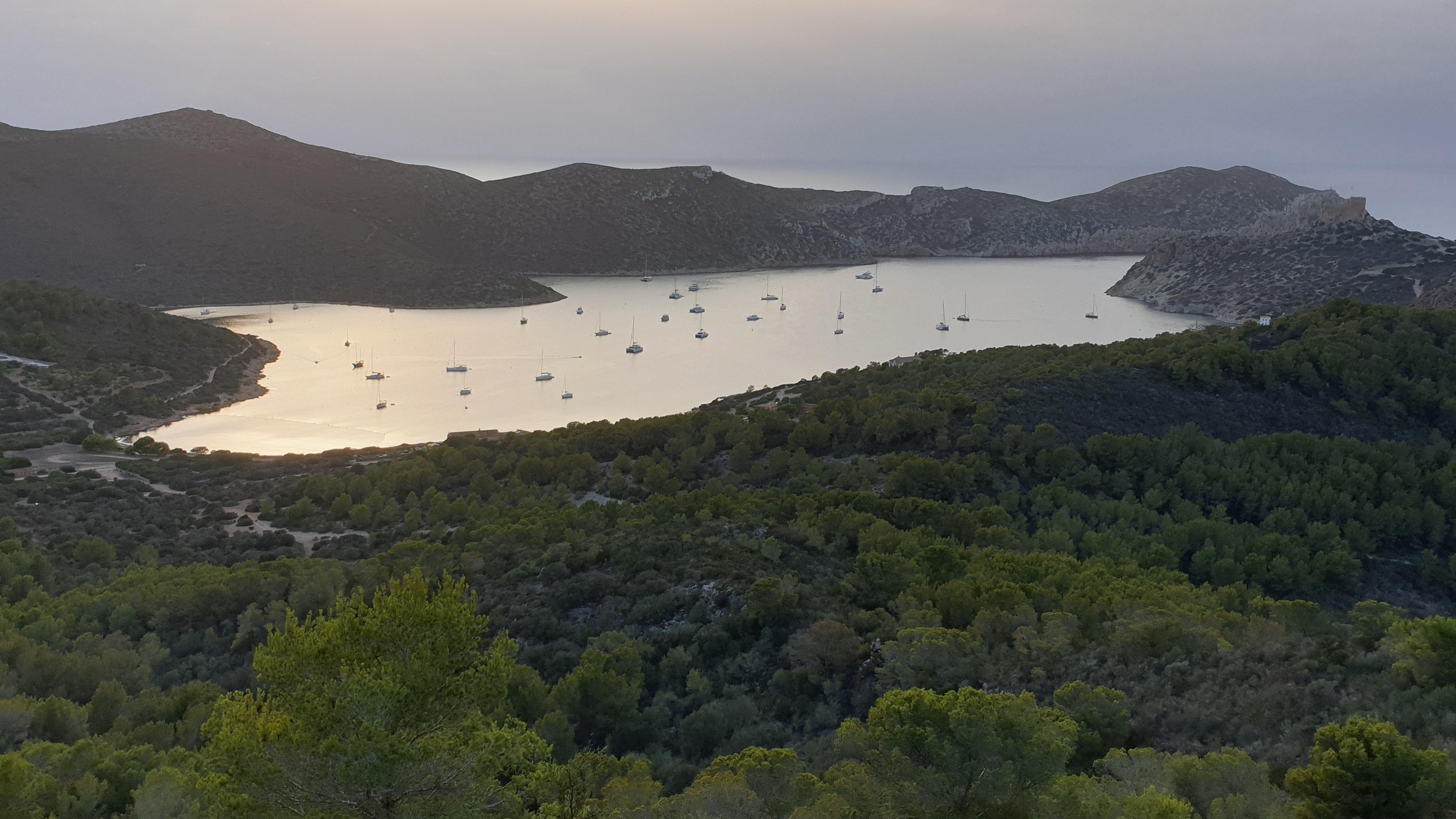 Bahía de la Isla de Cabrera